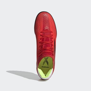 Calzado de Fútbol X Speedflow.3 Pasto Sintético Rojo Fútbol