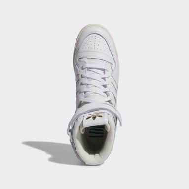 Originals White Forum 84 Hi Shoes