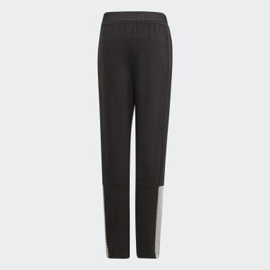 Dívky Cvičení A Trénink černá Kalhoty ID