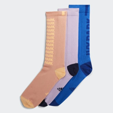 Chaussettes Ribbed Marble (3 paires) Rose Originals
