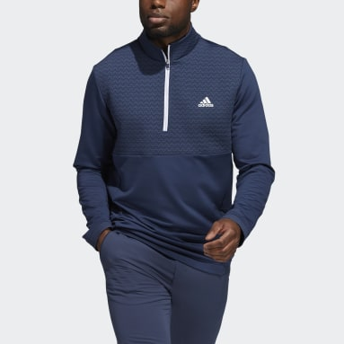 Heren Golf Blauw Recycled Content COLD.RDY Pullover