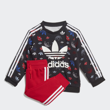 Kinder Originals Sweatshirt-Set Schwarz