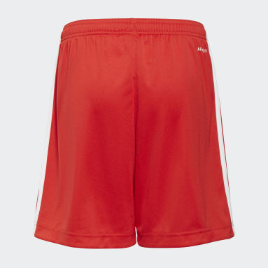 Kids Football Red 1. FC Union Berlin 21/22 Home Shorts