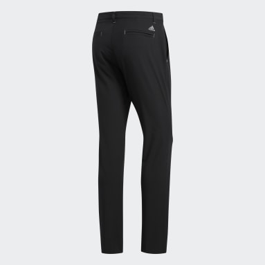 Men Golf Black Ultimate365 Tapered Pants