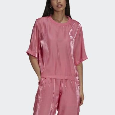 ผู้หญิง Originals สีชมพู เสื้อยืด