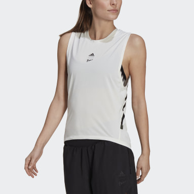 Women City Outdoor White Agravic Parley Tank Top