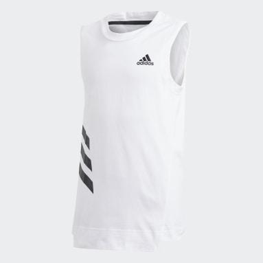 Camiseta de tirantes XFG Blanco Niña Sportswear