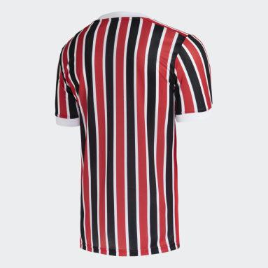 Camisa 2 São Paulo FC 21/22 Vermelho Homem Futebol