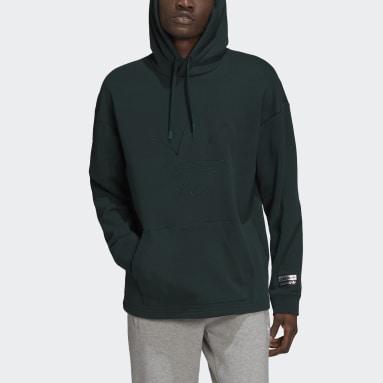 Men Originals Green R.Y.V. Graphic Hoodie