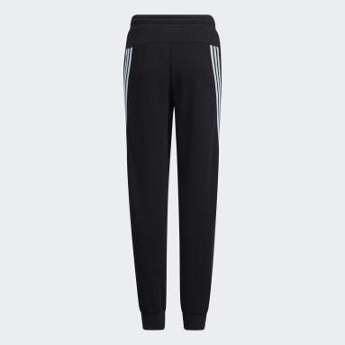 Girls Training Black Wuji Pants