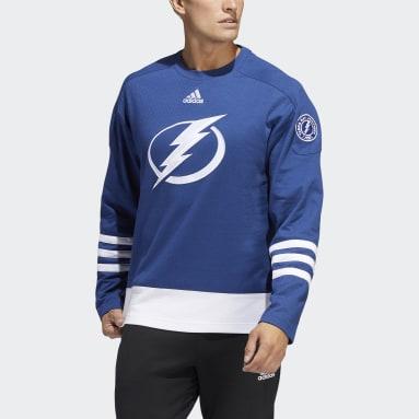 Men's Hockey Blue Lightning Crew Sweater