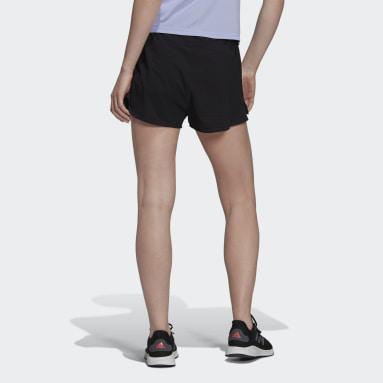 Women Running Black HEAT.RDY Running Shorts