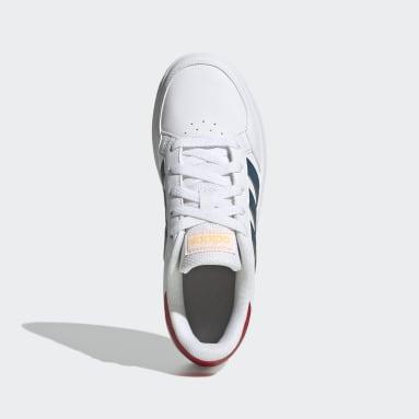 Zapatillas Breaknet Blanco Niño Diseño Deportivo