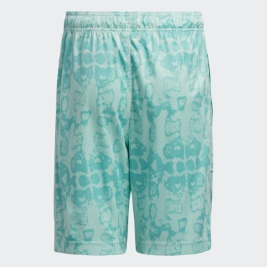 Children Basketball Turquoise Donovan Mitchell D.O.N. Issue #2 Shorts