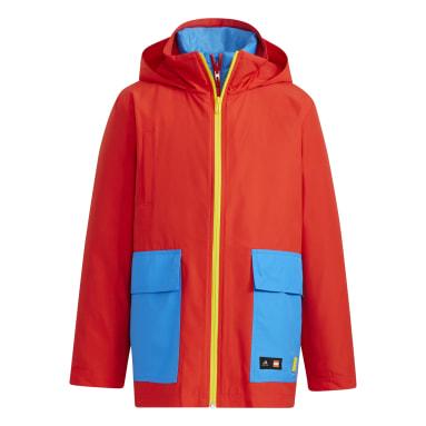 Barn Gym & Träning Röd adidas x Classic LEGO® Jacket
