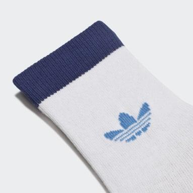 Děti Originals modrá Ponožky Trefoil Universe Crew - 2 páry