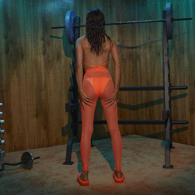 Legging Ivy Park Laranja Mulher Originals