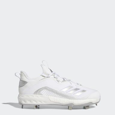 Men's Baseball White Icon 6 Cleats