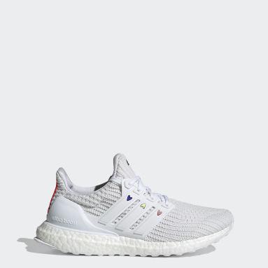 Women Running White Ultraboost 4.0 DNA Shoes