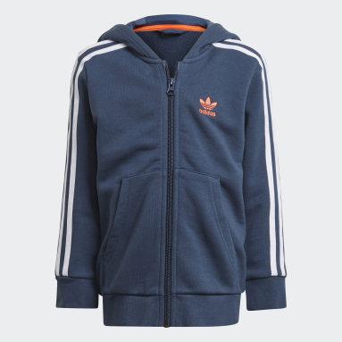 Conjunto chaqueta y pantalón Camo Print Azul Niño Originals