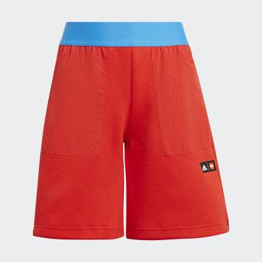 Pantalón corto adidas x Classic LEGO® Rojo Niño Gimnasio Y Entrenamiento