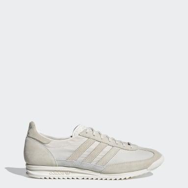 Men Originals White SL 72 Shoes