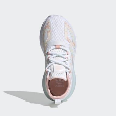 Girls Originals White ZX 2K Shoes