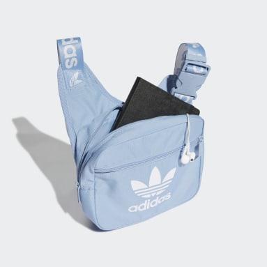 Originals Blauw Adicolor Sling Tas