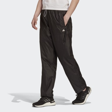 Frauen Sportswear adidas Sportswear WIND.RDY Woven Hose Schwarz