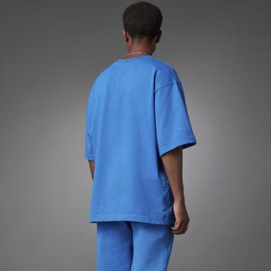T-shirt Blue Version Essentials Bleu Hommes Originals