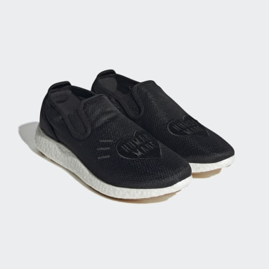 Men Originals Black Human Made Pure Slip-On Shoes