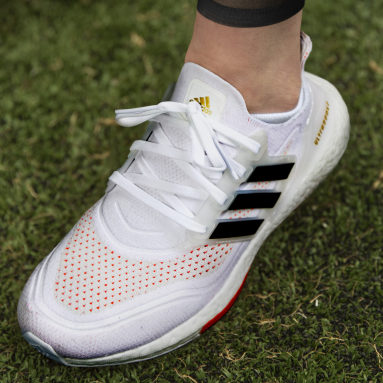 Ultraboost 21 Tokyo Running Shoes Bialy