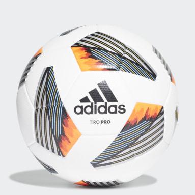 Men's Soccer White Tiro Pro Ball