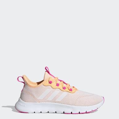 Women's Running Orange Nario Move Shoes