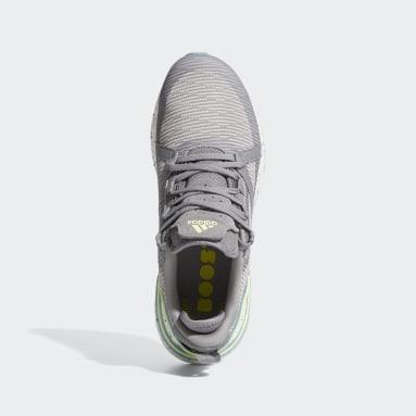 กอล์ฟ สีเทา รองเท้ากอล์ฟแบบไร้ปุ่ม Solarthon Primegreen