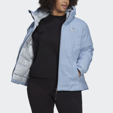 Women's Hiking Blue Traveer COLD.RDY Jacket (Plus Size)