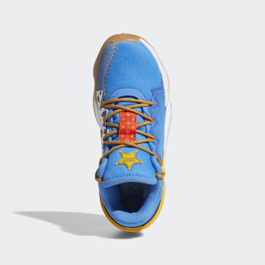 Youth Basketball Blue Donovan Mitchell D.O.N. Issue #2 x Woody Toy Story Shoes