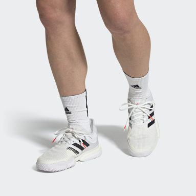 Men Tennis White SoleCourt Primeblue Tokyo Tennis Shoes