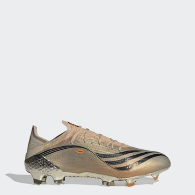 Soccer Silver X Speedflow Messi.1 Firm Ground Cleats