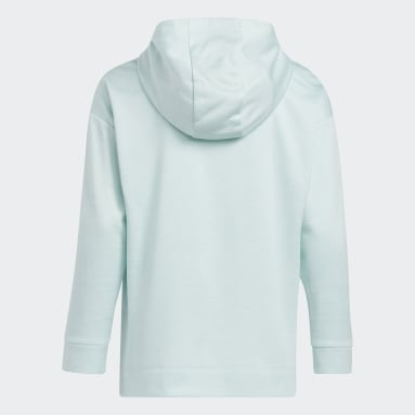 Youth Training Green Mélange Fleece Hoodie (Extended Size)