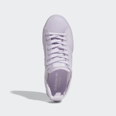 Women Originals Purple Superstar Jelly Shoes