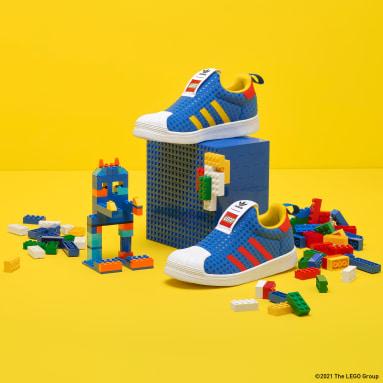 синий Кроссовки adidas Superstar 360 x LEGO®