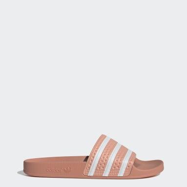 ผู้ชาย Originals สีชมพู รองเท้าแตะ adilette