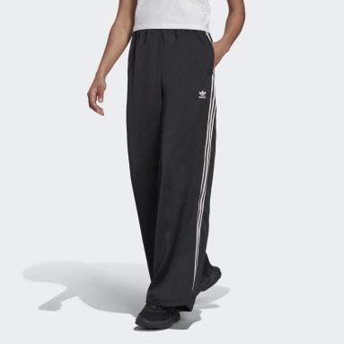 Pantalon Adicolor Classics Satin Noir Femmes Originals