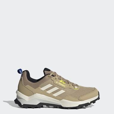 Men's TERREX Beige Terrex AX4 Primegreen Hiking Shoes