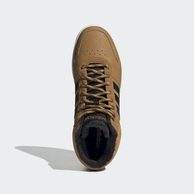 коричневый Высокие кроссовки Hoops 2.0