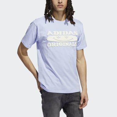 Camiseta Originals Smile Violeta Hombre Originals