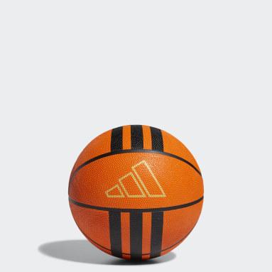 Pallone da basket 3-Stripes Rubber X2 Arancione Basket