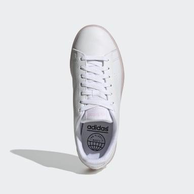 Tenis Advantage Eco Blanco Mujer Diseño Deportivo
