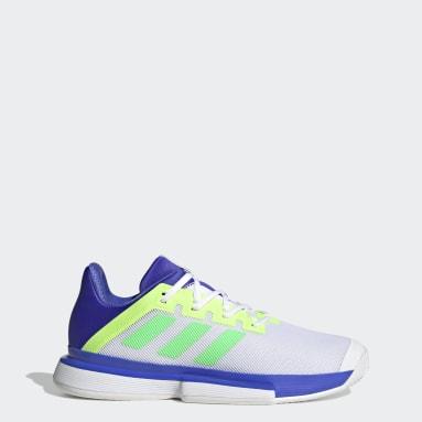 Tennis blauw SoleMatch Bounce Tennisschoenen